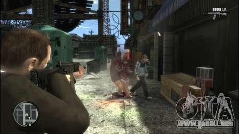 Sayga 12 para GTA 4 tercera pantalla
