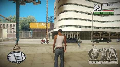 GTA HD mod 2.0 para GTA San Andreas segunda pantalla