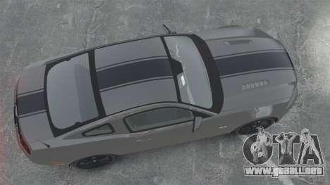 Ford Mustang GT 2013 para GTA 4 visión correcta