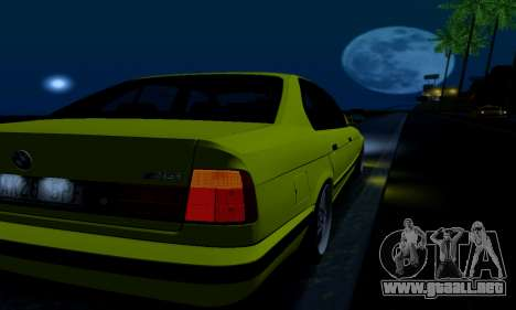 BMW M5 E34 IVLM v2.0.2 para vista inferior GTA San Andreas