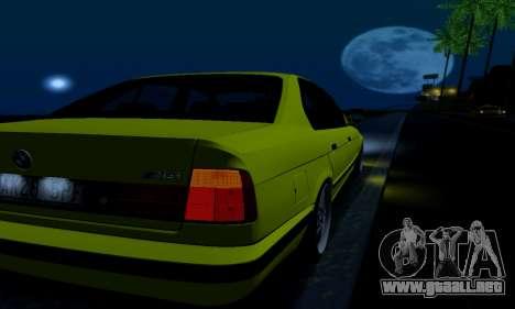 BMW M5 E34 IVLM v2.0.2 para vista inferior GTA San Andreas