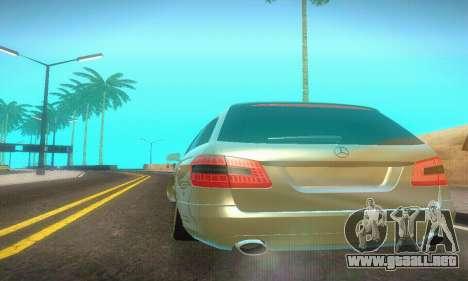 Mercedes-Benz E350 Wagon para visión interna GTA San Andreas