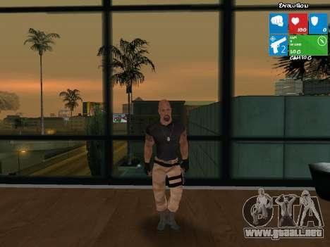 Luke Hobbs de rápido y furioso 5 para GTA San Andreas