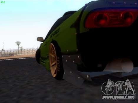Nissan 180sx Takahiro Kiato para visión interna GTA San Andreas
