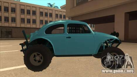Volkswagen Baja Buggy 1963 para GTA San Andreas vista posterior izquierda