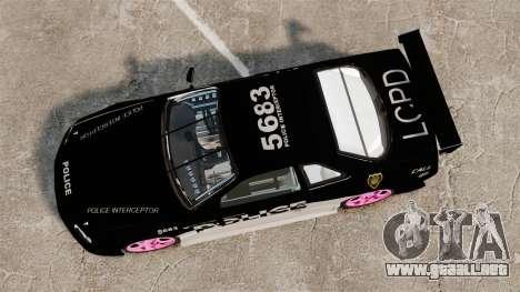 Nissan Skyline R34 para GTA 4 visión correcta