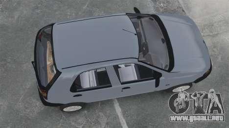 Fiat Palio EDX 1997 para GTA 4 visión correcta