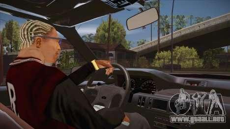 El guión de CLEO: vista desde la cabina para GTA San Andreas segunda pantalla