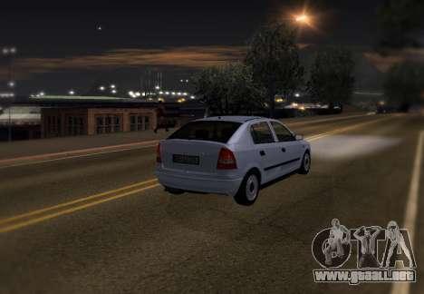 Opel Astra G para las ruedas de GTA San Andreas