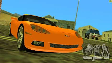 Chevrolet Corvette C6 para GTA Vice City