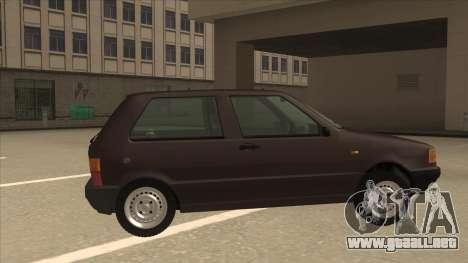 Yugo Uno 45 R 1994 para GTA San Andreas vista posterior izquierda