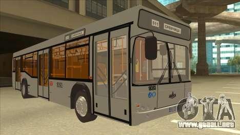 511 Sremcica Bus para GTA San Andreas left