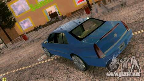 Caddy DTS DUB para GTA Vice City vista lateral