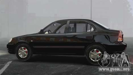 Hyundai Accent Admire para GTA 4 left