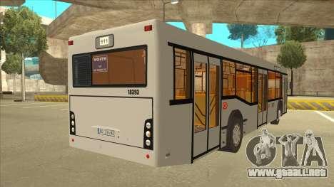 511 Sremcica Bus para la visión correcta GTA San Andreas