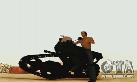 Mercenaries 2 Panzercycle para GTA San Andreas left