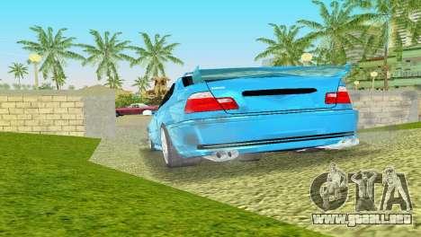 BMW M3 E46 Hamann para GTA Vice City visión correcta