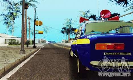 VAZ 21011 Propaganda para visión interna GTA San Andreas