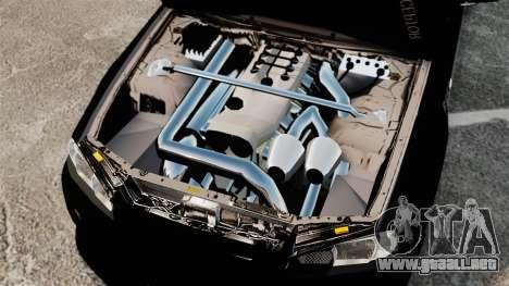 Nissan Skyline R34 para GTA 4 vista interior