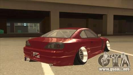 Nissan Silvia S18-5 para la visión correcta GTA San Andreas