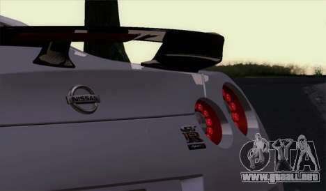 Nissan GT-R Carbon para la visión correcta GTA San Andreas