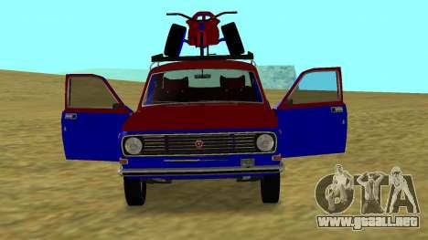 Volga GAZ-24 Fun para la visión correcta GTA San Andreas
