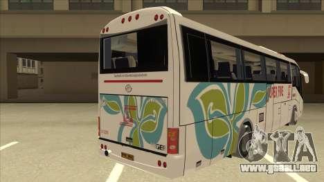 Higer KLQ6129QE - Super Five Transport S 025 para la visión correcta GTA San Andreas