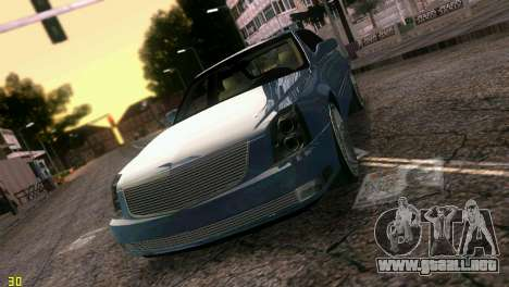Caddy DTS DUB para GTA Vice City vista superior