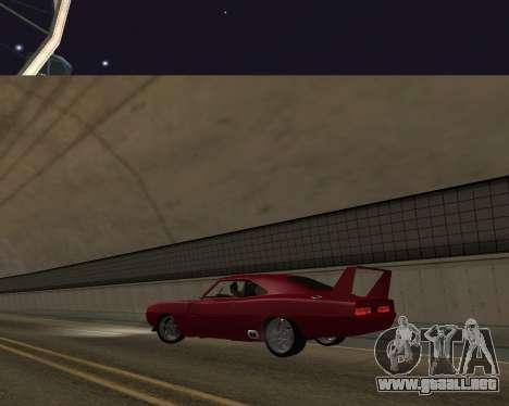Dodge Charger Daytona para visión interna GTA San Andreas