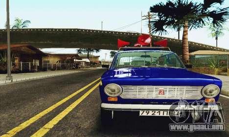 VAZ 21011 Propaganda para GTA San Andreas left