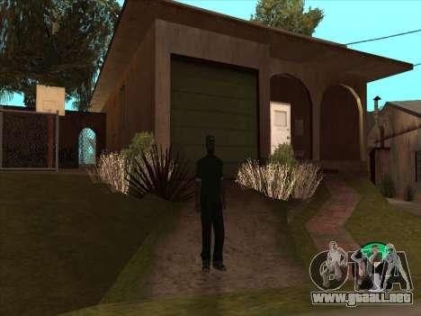 Conmutación entre personajes como GTA V 2.0 para GTA San Andreas tercera pantalla