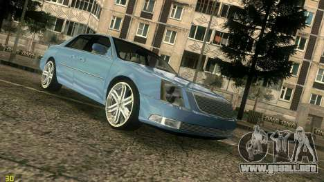 Caddy DTS DUB para GTA Vice City vista lateral izquierdo