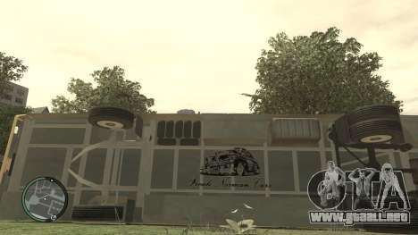 Escuela LIAZ 5256.45-01 para GTA 4 vista interior