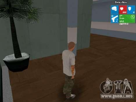 Nuevo vendedor de armas para GTA San Andreas segunda pantalla