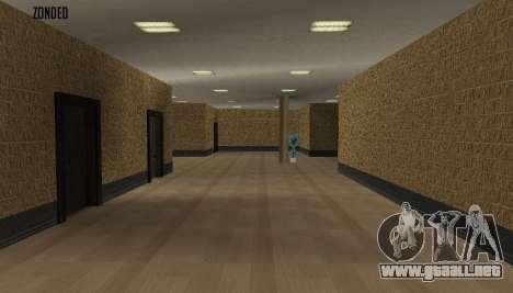 Retekstur el Interior del Ayuntamiento para GTA San Andreas segunda pantalla