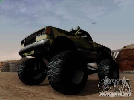 Camuflaje para Monster para visión interna GTA San Andreas
