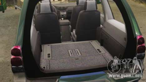 Chevrolet TrailBlazer SS 2008 para GTA 4 vista hacia atrás