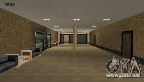 Retekstur el Interior del Ayuntamiento para GTA San Andreas tercera pantalla