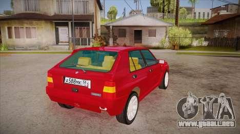 Lancia Delta Integrale EVO-2 para la visión correcta GTA San Andreas