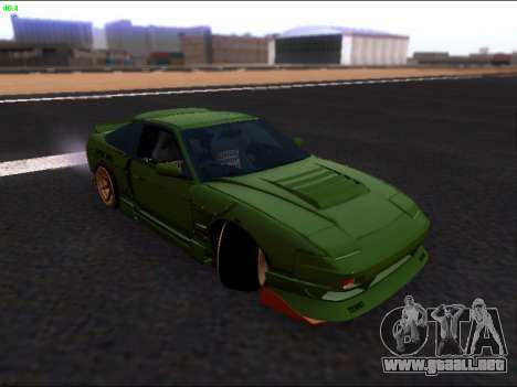 Nissan 180sx Takahiro Kiato para la vista superior GTA San Andreas