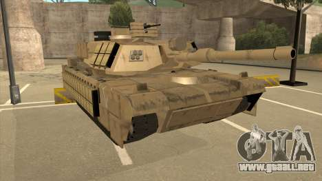 M69A2 Rhino Desierto para GTA San Andreas left