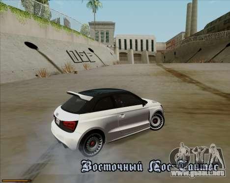 Audi A1 Clubsport Quattro para la vista superior GTA San Andreas