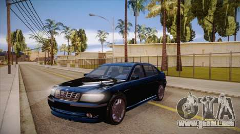 Geely xiongmao haohaoqing para visión interna GTA San Andreas