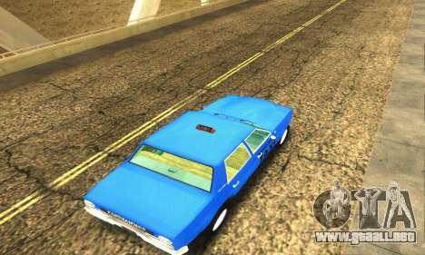 Fasthammer Taxi para vista lateral GTA San Andreas