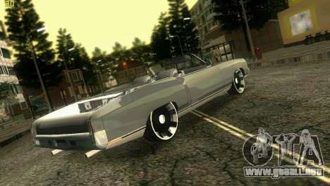 Chevy Monte Carlo para GTA Vice City left
