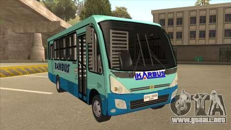 BANBUS Bus Srb. para GTA San Andreas left