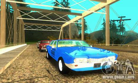 Fasthammer Taxi para GTA San Andreas