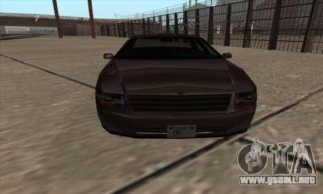 Washington de GTA 5 para GTA San Andreas vista posterior izquierda