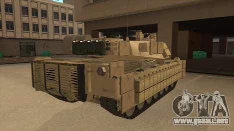 M69A2 Rhino Desierto para la visión correcta GTA San Andreas