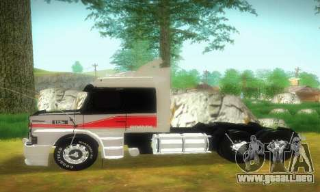 TopLine Scania 113 h 360 para GTA San Andreas left